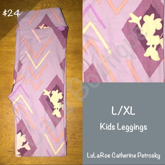 LuLaRoe Other - LuLaRoe Collection for Disney L/XL leggings